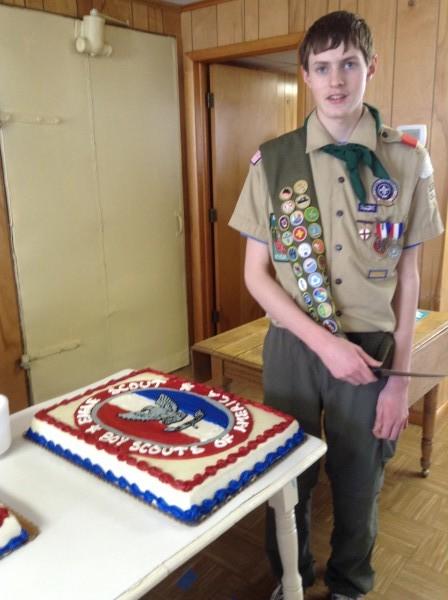 Ian Jones, Eagle Scout