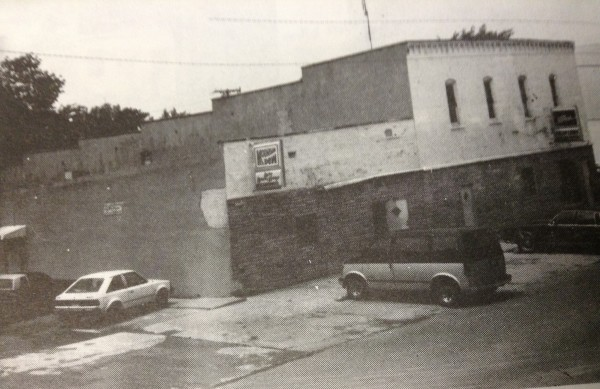 The Lucy Lounge and Lucky Lanes Bowling Alley.  The building was destroyed by fire in 1991.