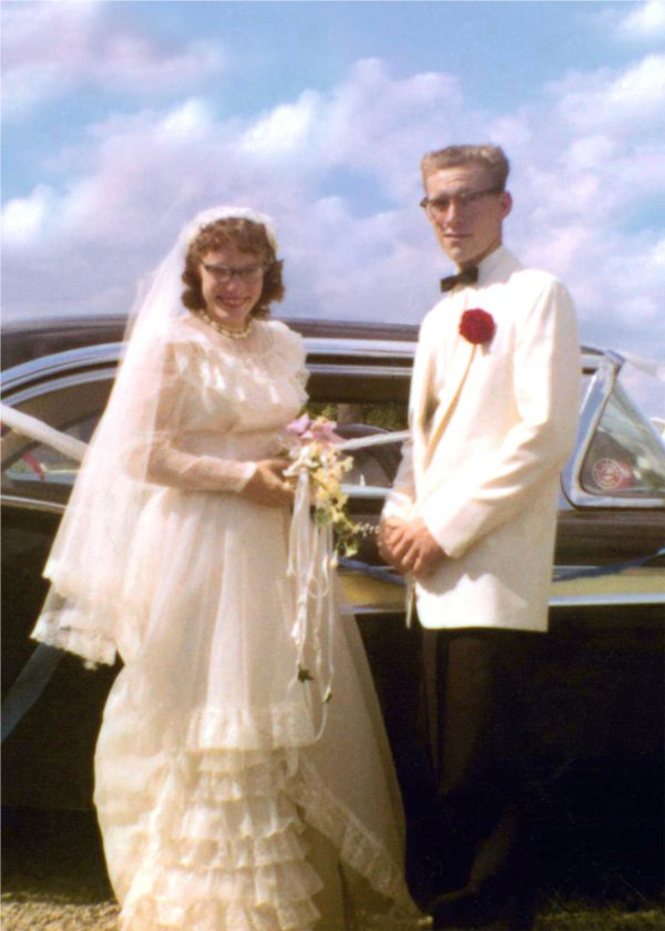 Marvin Rau and Verna (Sue) Miller