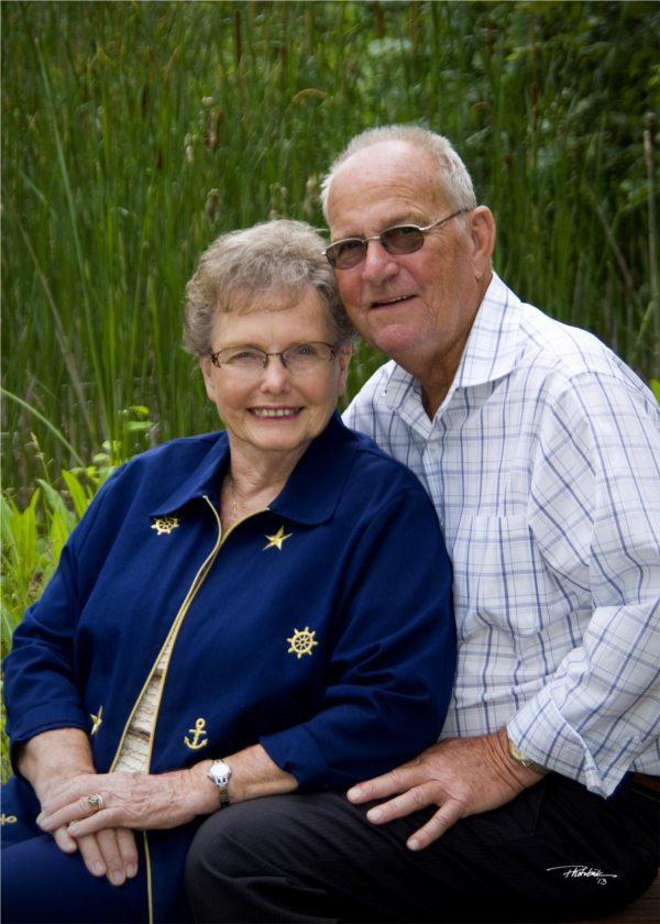 Marvin Rau and Verna (Sue) Miller