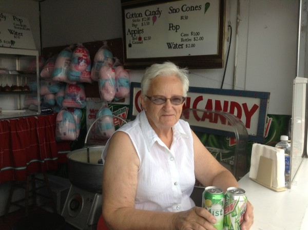 Judy Spitnale at the Putnam County Fair.