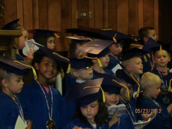 Preschool graduation at Dupont Church of the Brethren