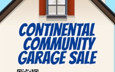 Announcing 2019 Continental Community Garage Sales